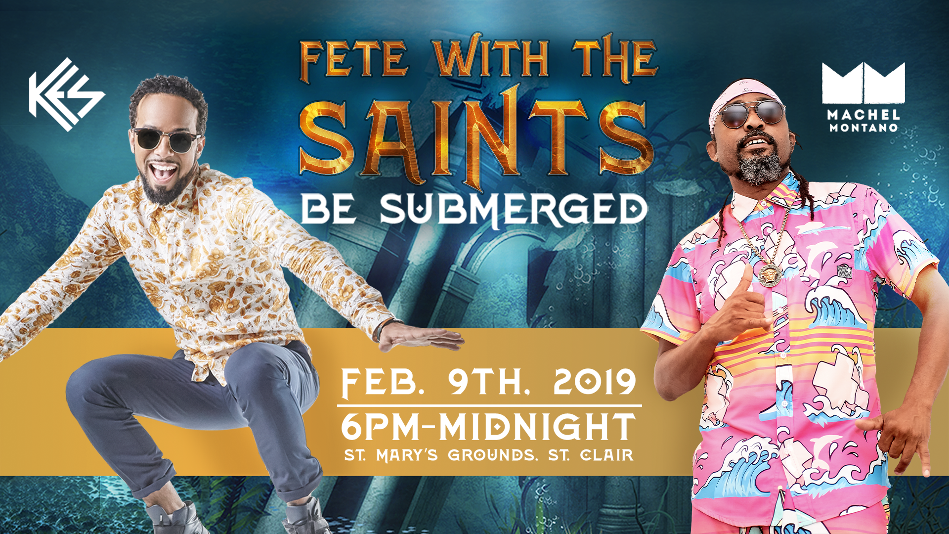 Fete with the Saints 2019